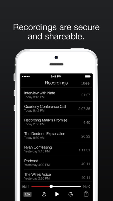 TapeACall Lite: Call Recorder app image