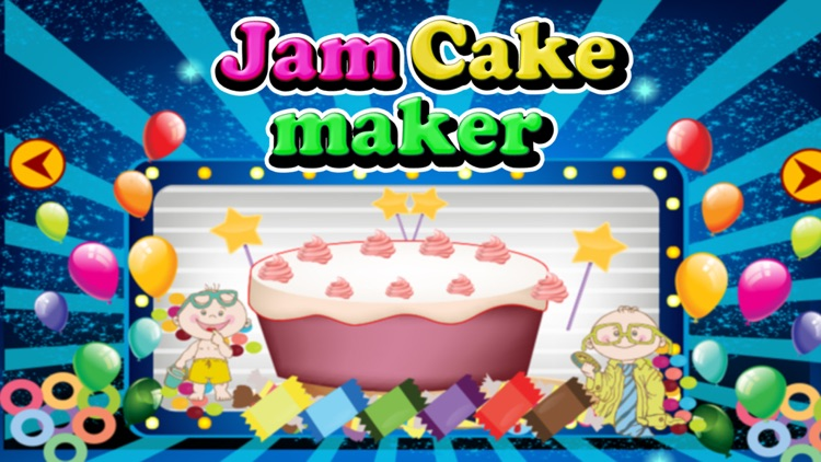 Jam Cake Maker Bake Cakes In This Bakery Shop Game For Kids By