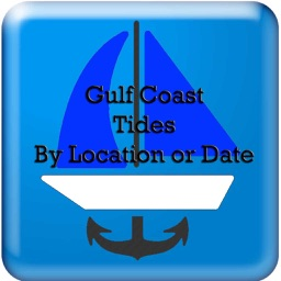 Gulf Coast Tides Hi-Low by Date and Location