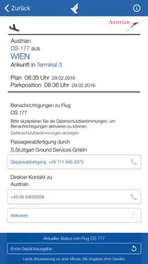 Stuttgart Airport Im App Store