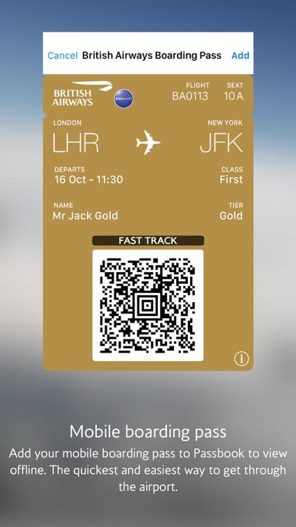 British Airways screenshot-3