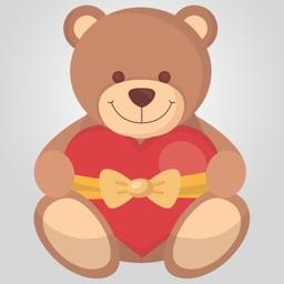 LoveLoveLove - Valentines Day Everyday FREE Photo Stickers