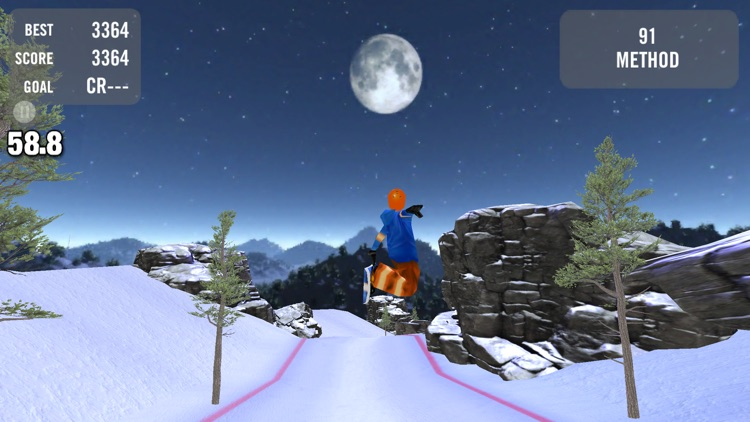 Crazy Snowboard Pro screenshot-1