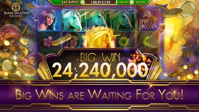 SLOTS - Black Diamond Casino Screenshot