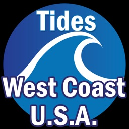 West Coast U.S.A. Tide Tables w/ Weather