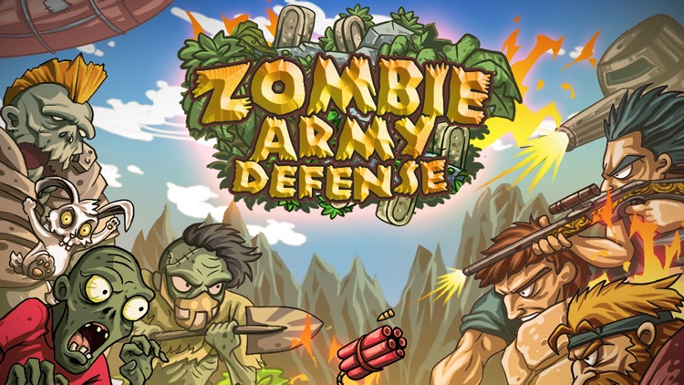 Zombie Army Defense screenshot-0