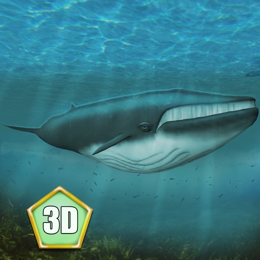Whale Survival Simulator 3D Full - Ocean animal survival simulator icon