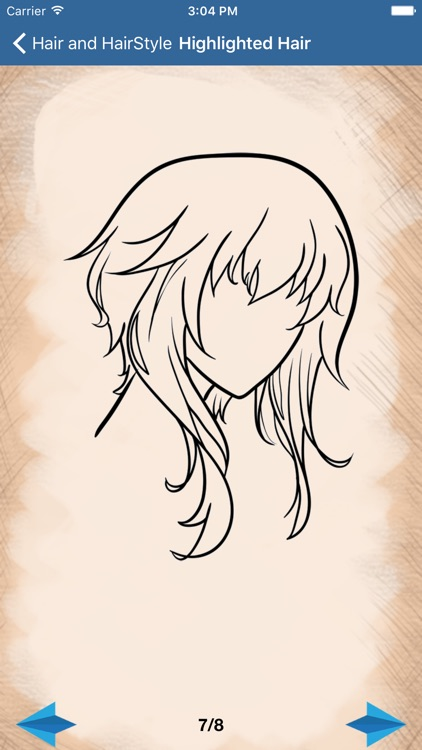 Artist Blue - How to draw Hairdo and Hairstyle screenshot-3
