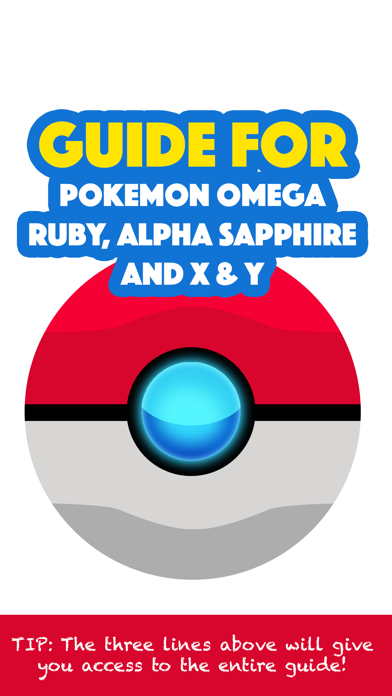 Guide For Pokemon Omega Ruby, Alpha Sapphire and X & Yのおすすめ画像1