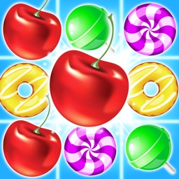 Food Splash-Free Candy Matching Puzzle Game