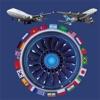 航空以21种语言的多语言词典