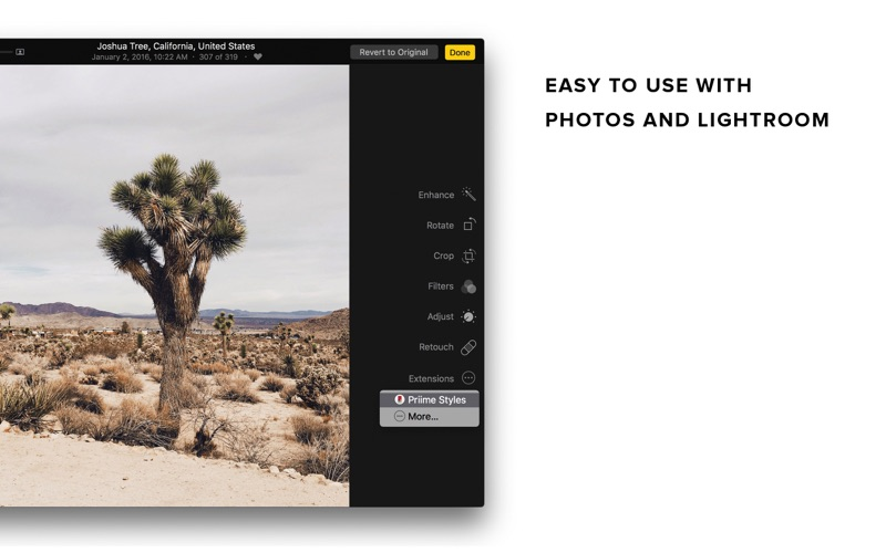 Priime Styles Screenshots