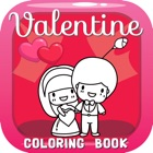 Valentine Coloring Book : Cute & Lovely! Free For Kids And Toddlers icon