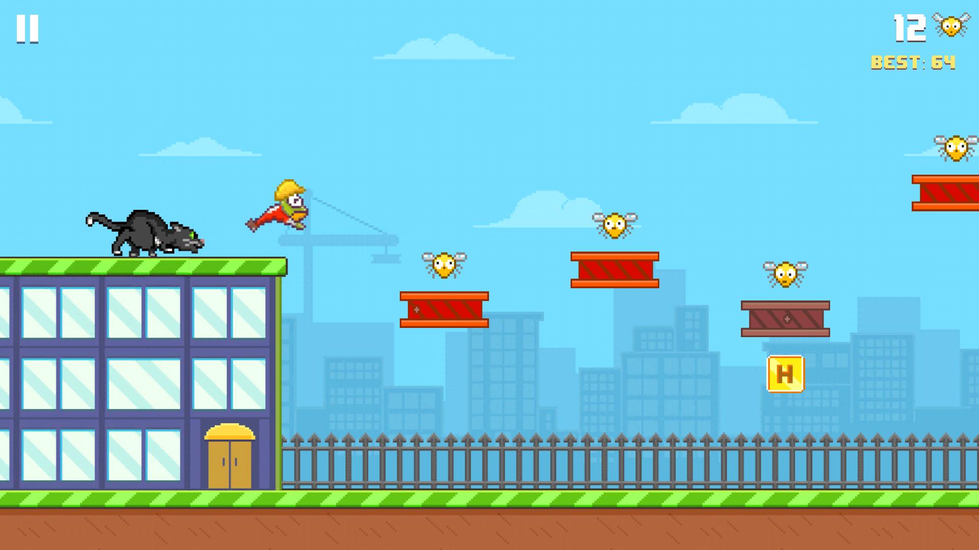 Hoppy Frog 2 - City Escape screenshot 10