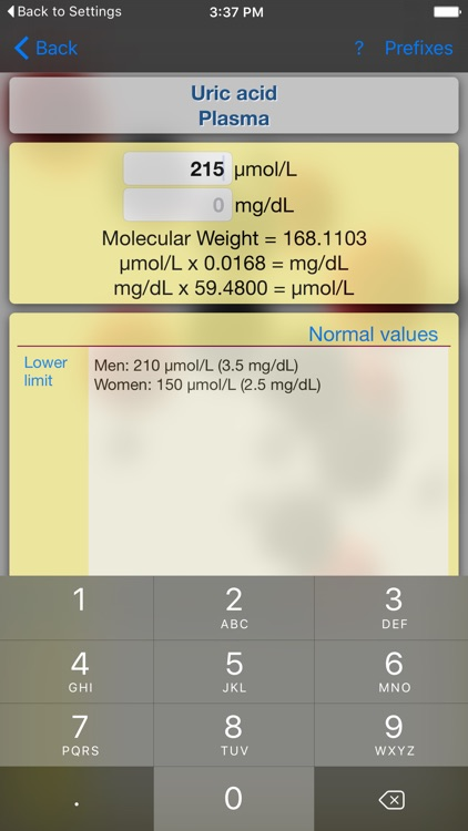Medical Converter Lite screenshot-1