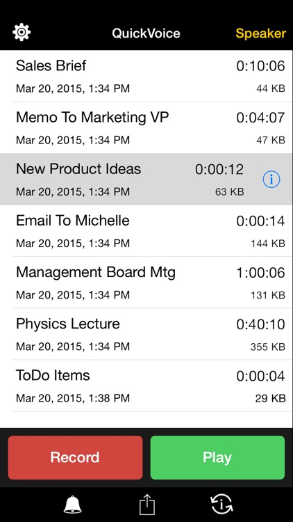 QuickVoice2Text Email (PRO Recorder) screenshot-0