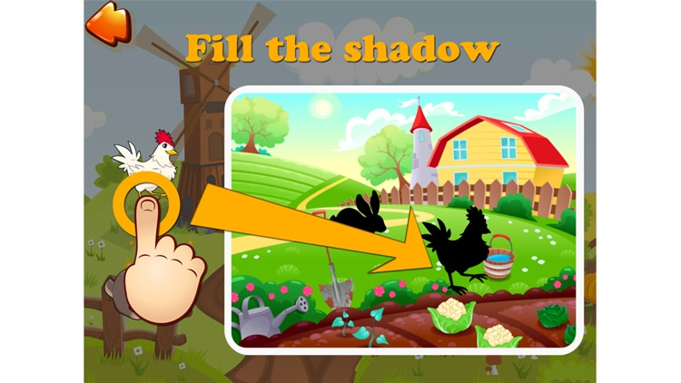 Sunny Farm - Fun Cartoon Farm Animals Game For Toddler With Puzzle Sound Food Free screenshot-3
