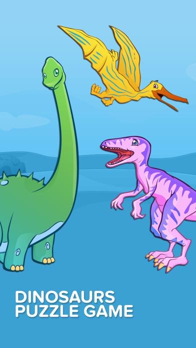 点击获取Kids Puzzles - Dinosaurs - Early Learning Dino Shape Puzzles and Educational Games for Preschool Kids Lite