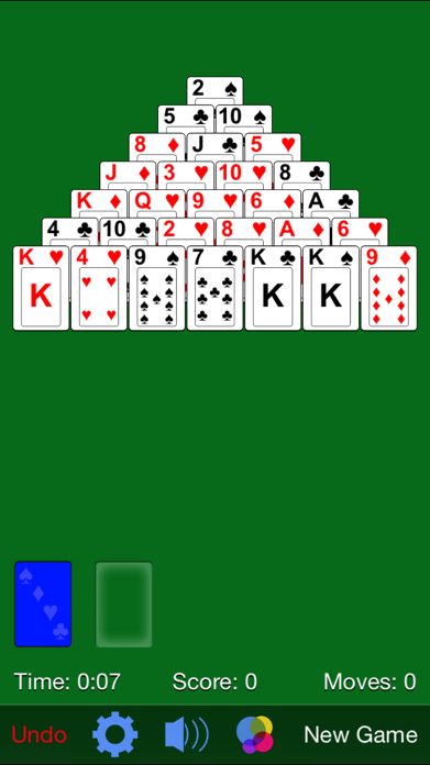 Pyramid Solitaire· Screenshot