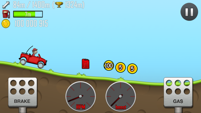 ‎Hill Climb Racing Screenshot