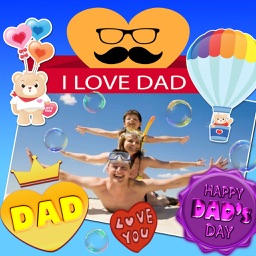 Father's Day Greeting Cards and Stickers