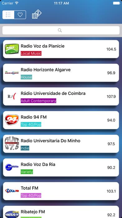 Rádios - O melhor de rádio Português - Simples, rápido e gratuito screenshot four
