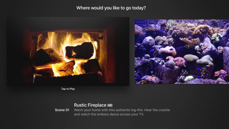 Galleria: Fireplace Aquarium Sunset Marina & Zen