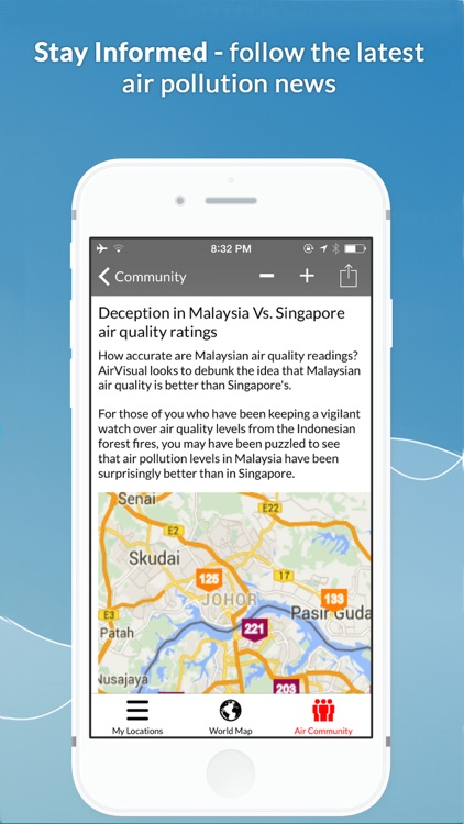 Global Air Quality Monitoring & Pollution Forecast PM2.5 AQI | AirVisual screenshot-4