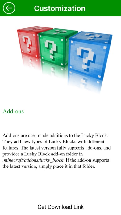 New Lucky Block Mod for Minecraft Game Free - App - Mobile