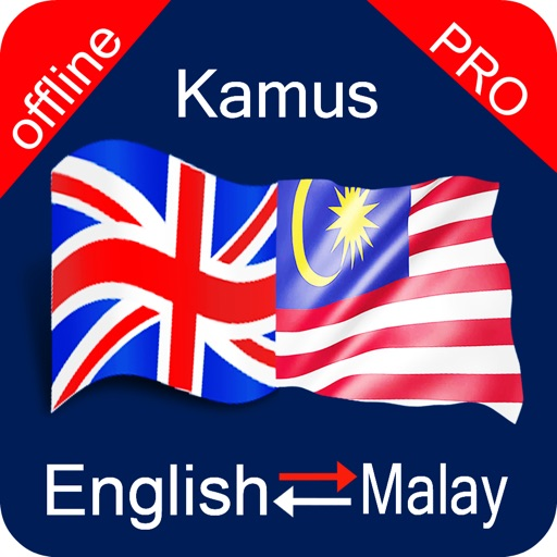 English to Malay & Malay to English Offline Dictionary Pro