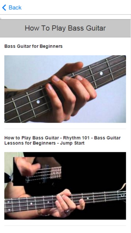 Guitar Lessons For Beginners - Learn to Play Guitar screenshot-3