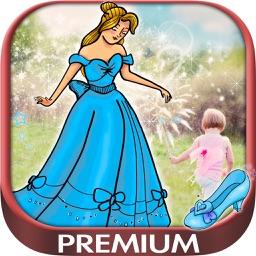 Your photo with Cinderella - Premium