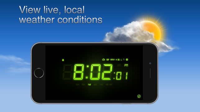 the latest 0f750 15b18 Alarm Clock - Alarm & Weather on the App Store