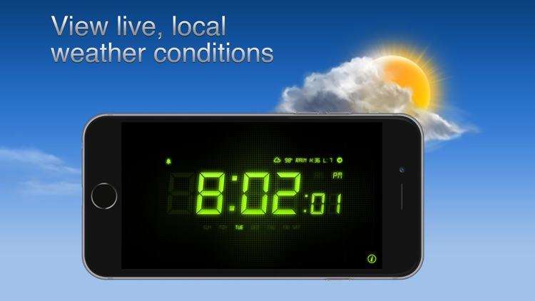 Alarm Clock - Alarm & Weather screenshot-2