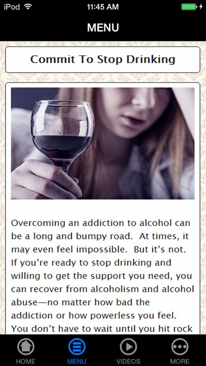 Best Way to Stop Drinking Alcohol Now screenshot-3