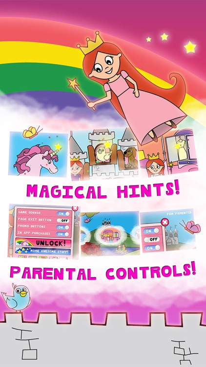 Princess Fairy Tale Coloring Wonderland for Kids and Family Preschool Ultimate Edition screenshot-3