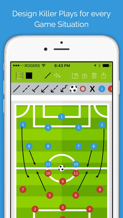 Soccer Blueprint screenshot-0