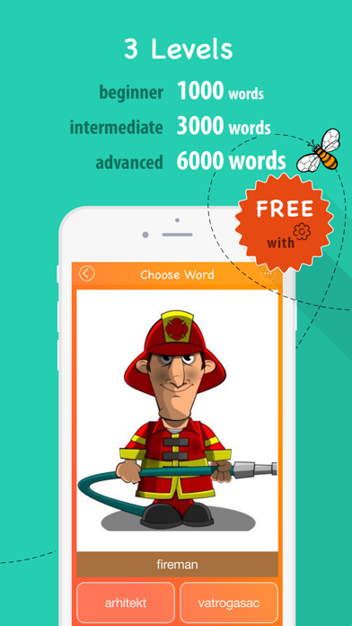 6000 Words - Learn Croatian Language for Free screenshot three