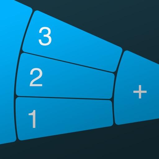 FutureCalc: ergonomic calculator for single-handed use