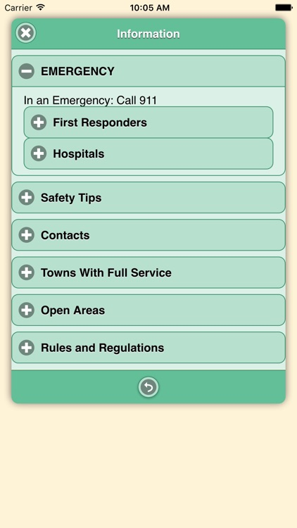 CTUC Kingston & Shoshone Mtns screenshot-3