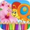 蝴蝶仙子和错误图画书绘画的儿童游戏