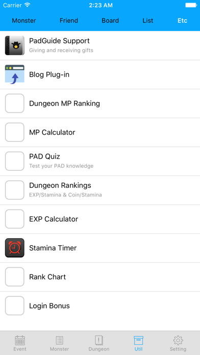 PadGuide for Puzzle & Dragons screenshot four