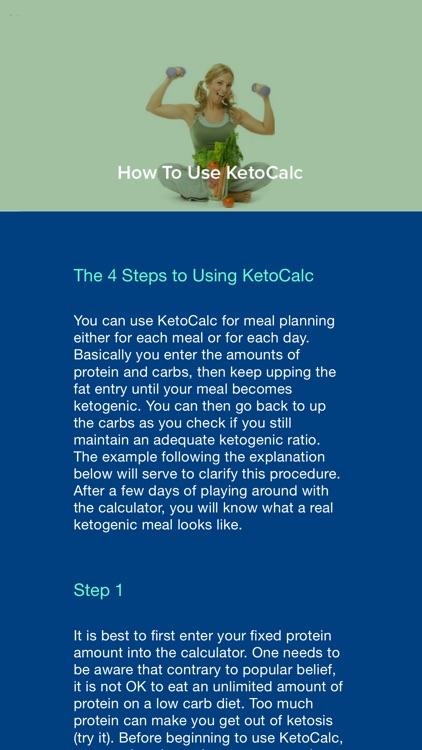 KetoCalc screenshot-3