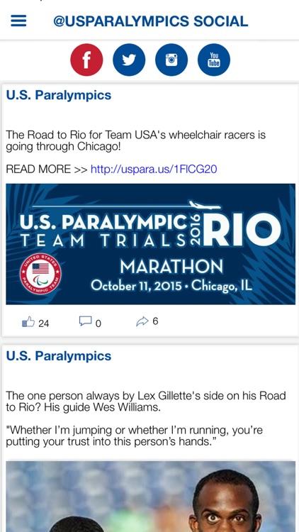 U.S. Paralympics App