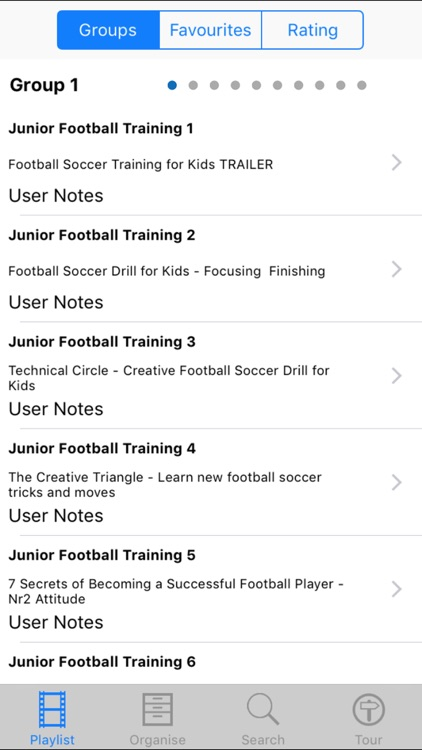 Junior Football Training