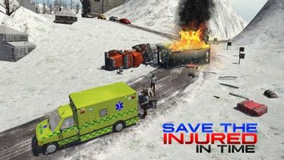 スノーレスキュー911 - 緊急救急車運転シミュレータのおすすめ画像2