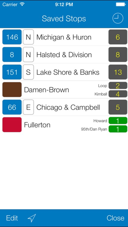 Transit Stop: CTA Tracker screenshot-3