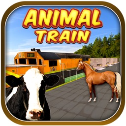 Farm Animal Transport Train 3d