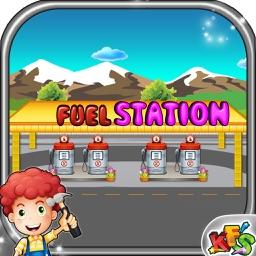Build a Fuel Station – Crazy building & fix it game for little builders