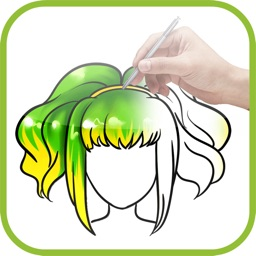 Artist Blue - How to draw Hairdo and Hairstyle